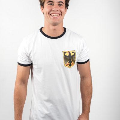 Camiseta Blanca Escudo Alemania