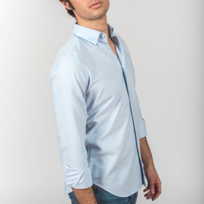 Camisa Oxford BD Celeste Lisa
