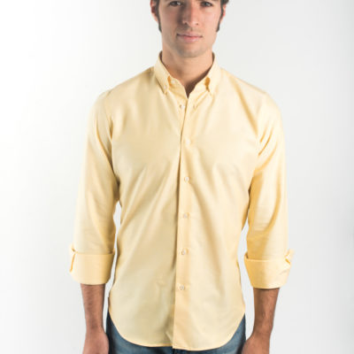 Camisa Oxford BD Amarilla Lisa