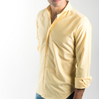 Camisa Oxford Amarilla Lisa