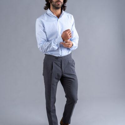 Pantalón Vestir Gris Medio