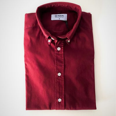 Camisa Oxford BD Burdeos Lisa