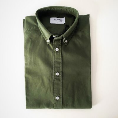 Camisa Oxford BD Verde Lisa