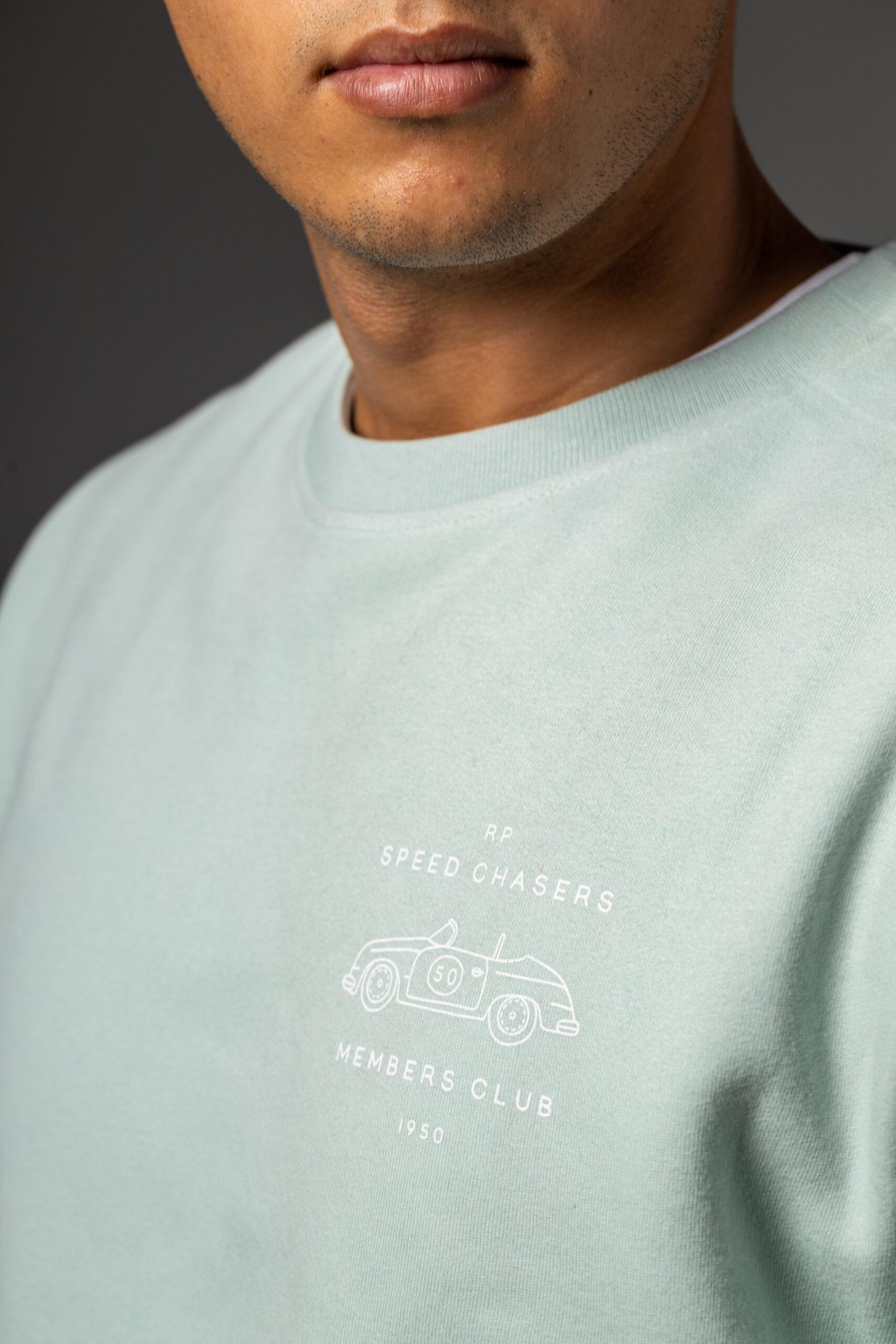 Sudadera Aguamarina Porsche Club Blanca